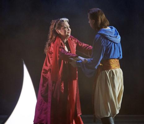 Joseph Dennis et Albina Shagimuratova dans la Flûte enchantée