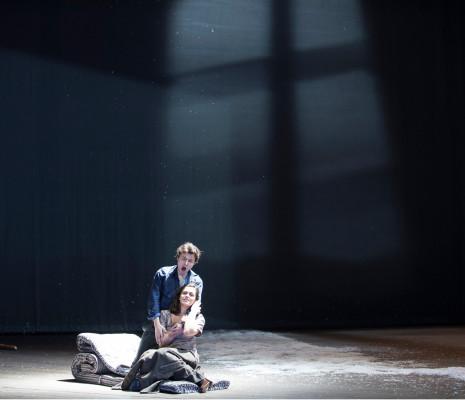 Sébastien Guèze et Ruzan Mantashyan dans La Bohème