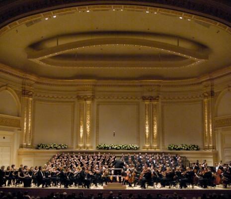 Orchestre philharmonique de New York et Chœur du Collège de Westminster