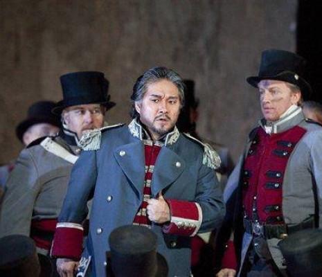 Kwangchul Youn dans Le Trouvère au Met
