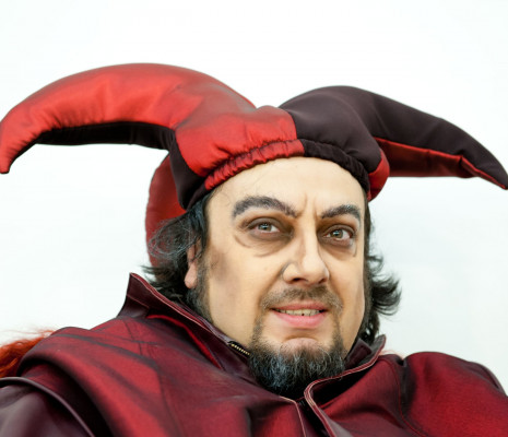 George Petean dans Rigoletto