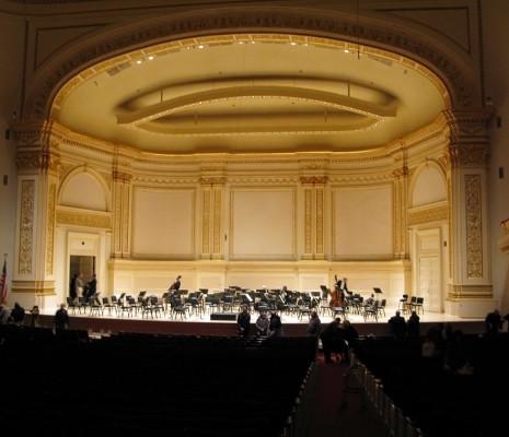 Carnegie Hall Isaac Stern Auditorium