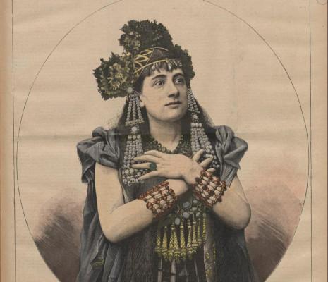 Lucienne Bréval Salammbô Ernest Reyer