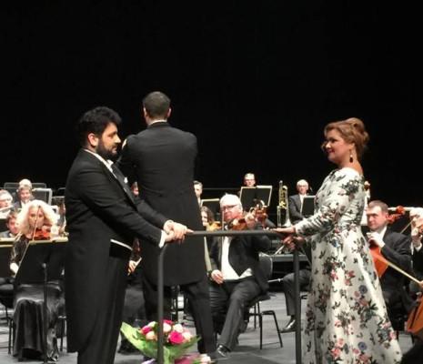 Yusif Eyvazov et Anna Netrebko