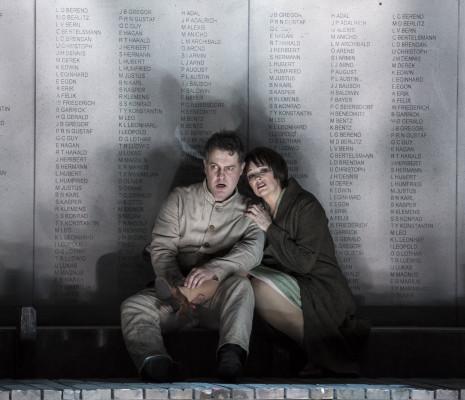 Mark Stone et Jennifer Larmore dans Wozzeck