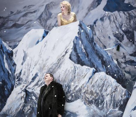 Wolfgang Ablinger-Sperrhacke et Helena Juntunen dans Salomé par Olivier Py