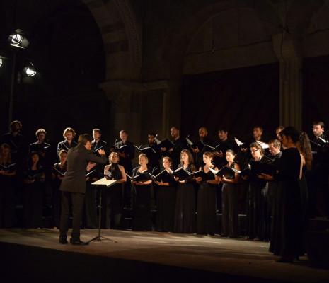 Les Cris de Paris aux Rencontres Musicales de Vézelay