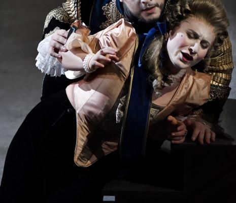 Salome Jicia et Nahuel di Pierro dans Semiramide