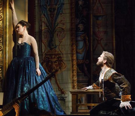 Mireille Asselin (Créuse) et Jesse Blumberg (Oronte)  - Opéra Atelier