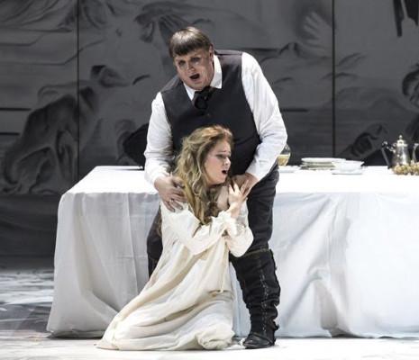 Mihaela Marcu et Federico Longhi - Rigoletto par Ezio Toffolutti