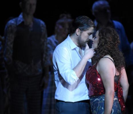 Roberto Tagliavini et Clémentine Margaine - Carmen par Calixto Bieito