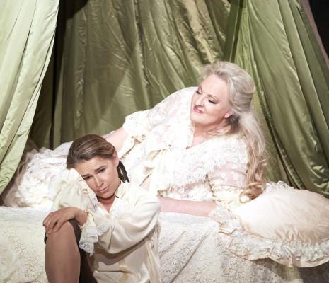 Sophie Koch et Linda Watson dans le Chevalier à la rose à Vienne