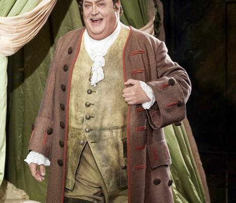 Peter Rose dans le Chevalier à la rose à Vienne
