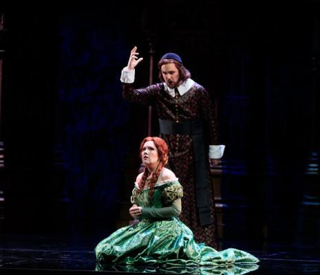 Nadine Joutcher et Maxim Kuzmin-Karavaev dans Lucia di Lammermoor à Toulouse