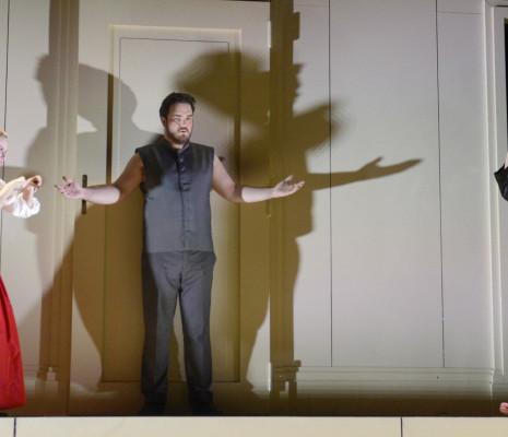 Beate Ritter et Amber Wagner dans Ariane à Naxos par David Hermann