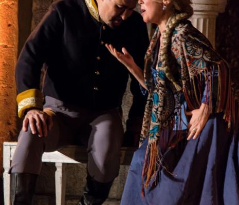 Valter Borin et Mihaela Dinu dans Carmen Festival Salon de Provence