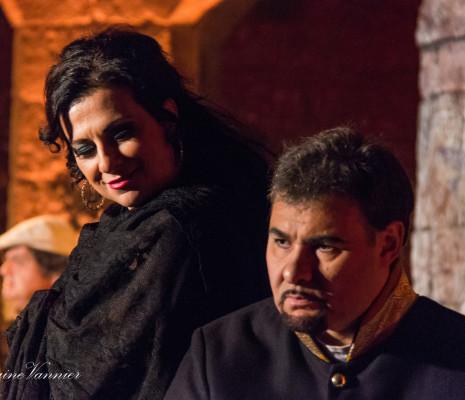 Claudia Marchi et Valter Borin dans Carmen Festival Salon de Provence