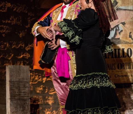 Claudia Marchi et Frédéric Cornille dans Carmen Festival Salon de Provence
