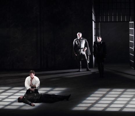 Éric Vignau, Nicolas Courjal, Teodor Ilincai et Jean-François Lapointe Don Carlo à Marseille
