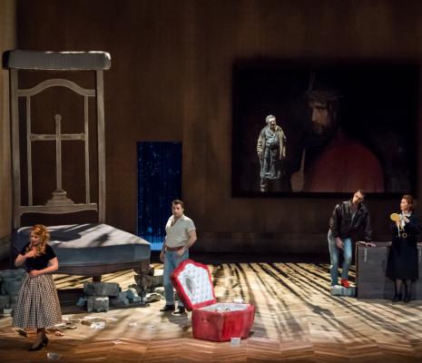 Nathalie Manfrino, Florian Laconi, Jérôme Varnier et Marie-Ange Todorovitch Faust à Avignon