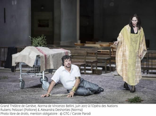 Norma, Rubens Pelizzari & Alexandra Deshorties