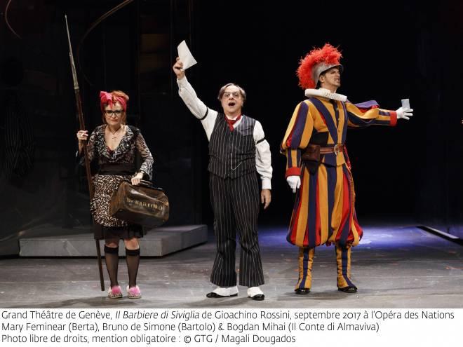 Mary Feminear, Bruno de Simone & Bogdan Mihai - Le Barbier de Séville par Sam Brown
