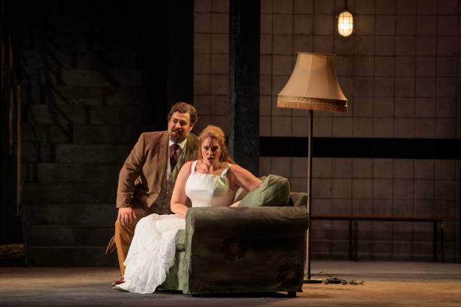Markus Brück (Sebastiano), Meagan Miller (Marta) - Tiefland par Walter Sutcliffe