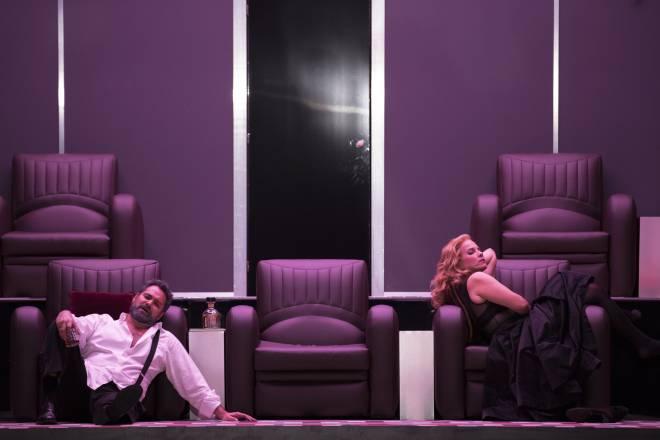 Répétitions Don Carlos par Warlikowski - Ildar Abdrazakov et Elīna Garanča