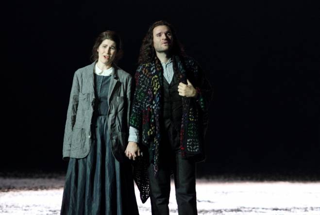 La Bohème par Richard Jones - Michael Fabiano et Nicole Car