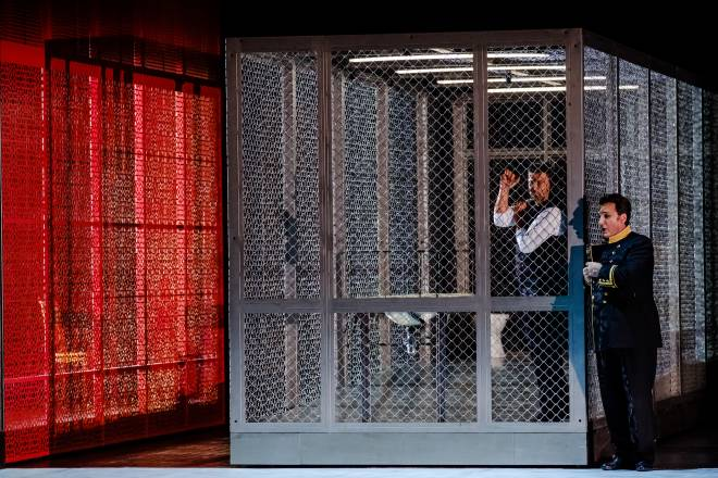 Ludovic Tézier et Jonas Kaufmann dans Don Carlos