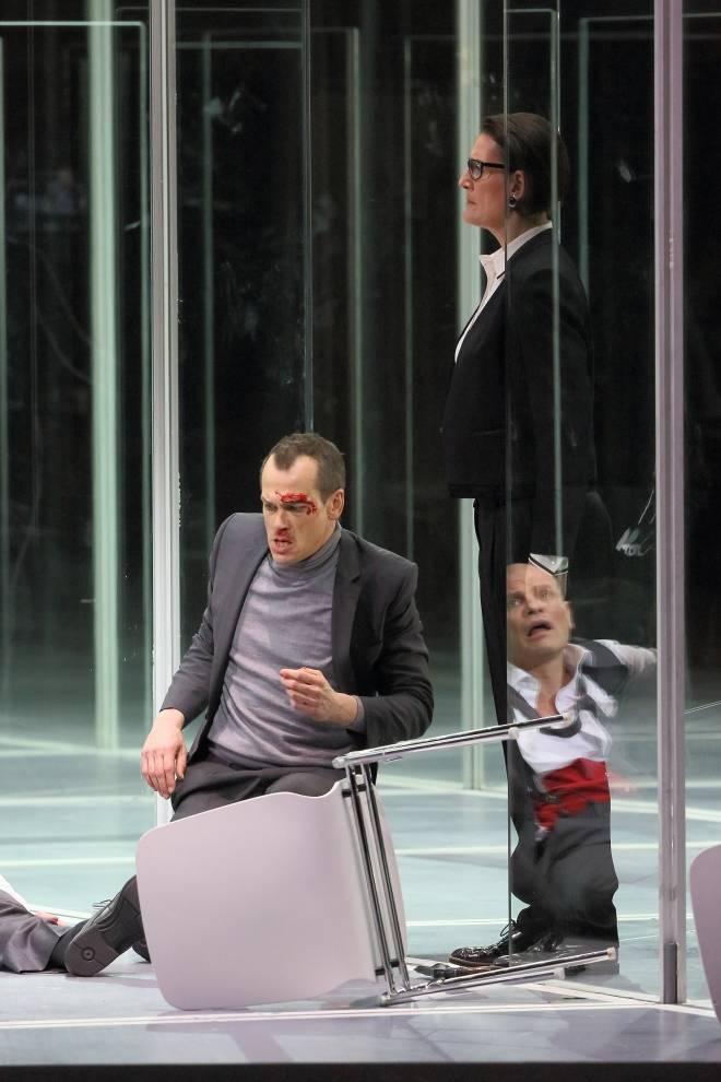 Matthias Klink & Daniela Sindram - Lulu par Tcherniakov