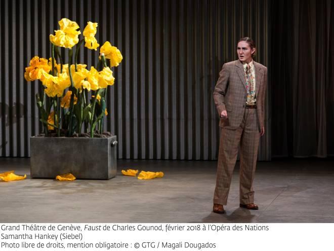 Samantha Hankey (Siebel) - Faust par Georges Lavaudant