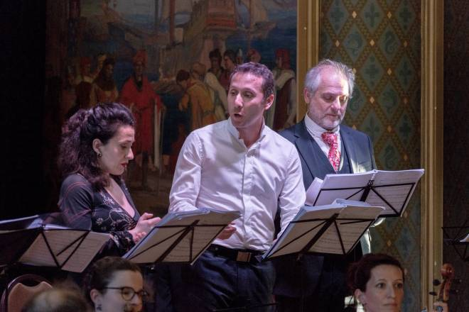 Claire Debono (Cendrillon), David Ghilardi (Le Prince) et Didier Henry (Alidor) - Cendrillon en version concert