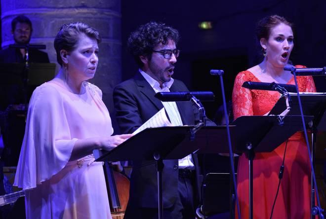 Emmanuelle De Negri, Mathias Vidal & Judith Van Wanroij