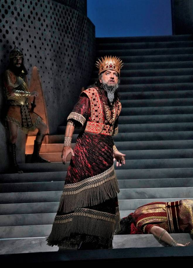 Laurent Naouri - Samson et Dalila par Darko Tresnjak