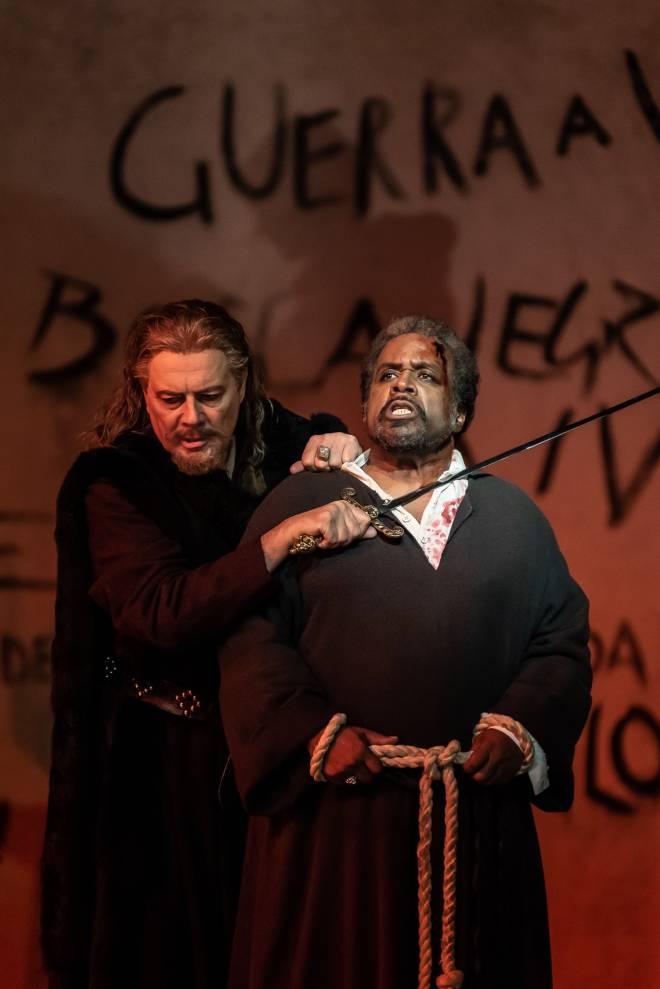 Ferruccio Furlanetto & Mark Rucker - Simon Boccanegra par Elijah Moshinsky