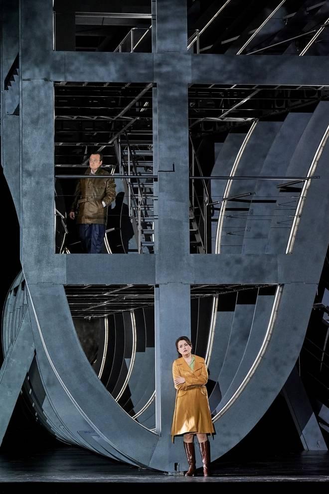 Ludovic Tézier & Anita Hartig - Simon Boccanegra par Calixto Bieito
