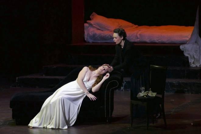 Nicole Car & Carine Séchaye - La Traviata par Renée Auphan