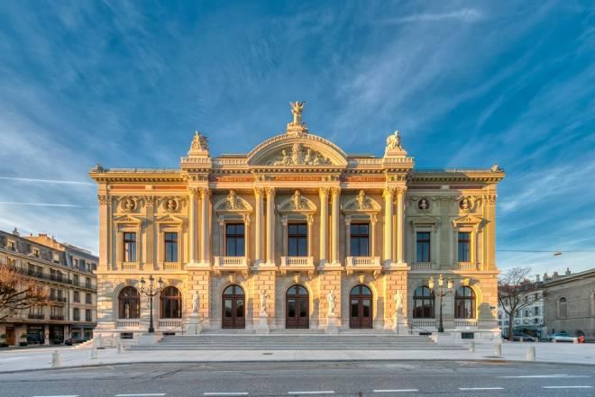 Grand Théâtre de Genève - Façade