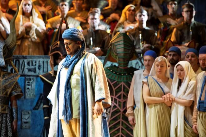 Lionel Lhote - Aida par Stefano Mazzonis di Pralafera