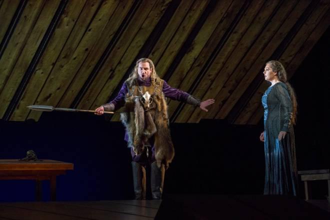 Günther Groissböck & Eva-Maria Westbroek - La Walkyrie par Robert Lepage
