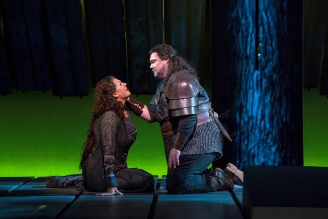 Eva-Maria Westbroek & Stuart Skelton - La Walkyrie par Robert Lepage