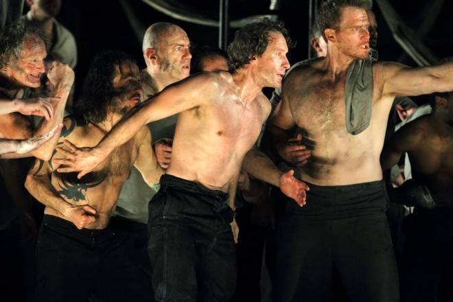 Jacques Imbrailo et Duncan Rock - Billy Budd par Deborah Warner