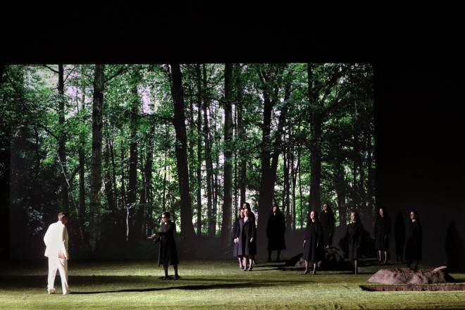 Julien Behr, Jodie Devos, Chiara Skerath, Julie Robard-Gendre et Élodie Méchain - La Flûte enchantée par Robert Carsen