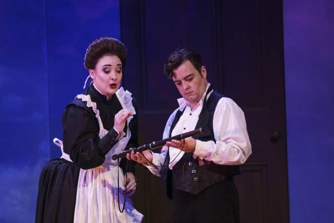 Jennifer Davis & Ben Johnson - La Flûte enchantée par Dominic Cooke