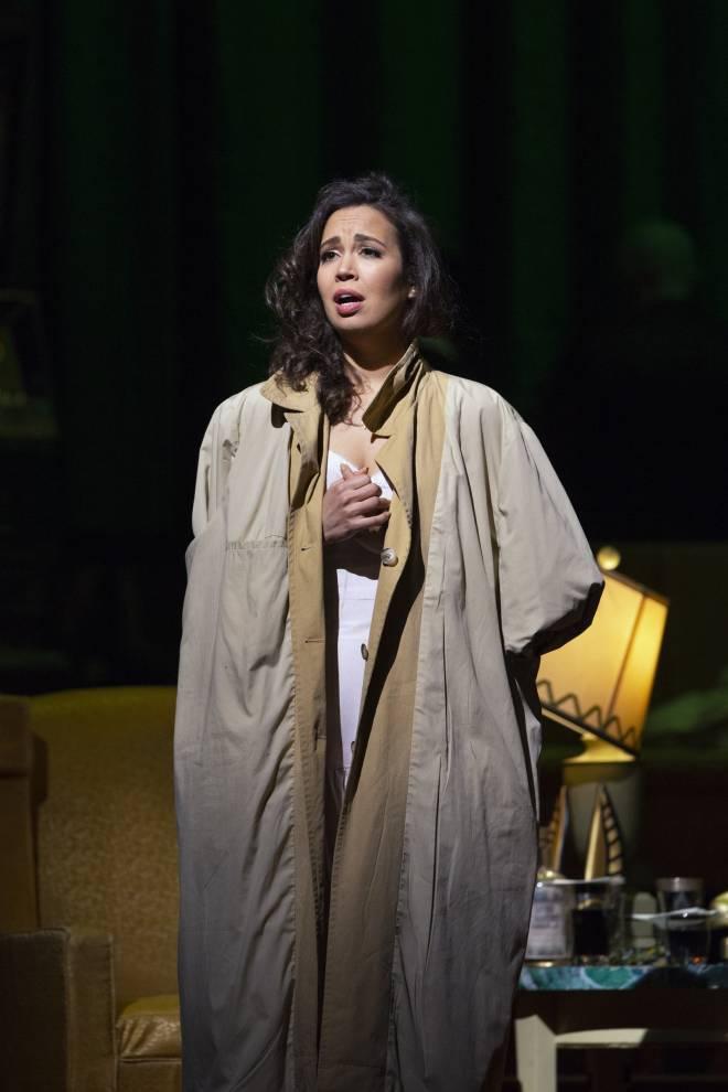 Nadine Sierra - Rigoletto par Michael Mayer