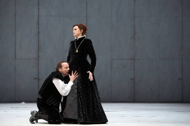 Franco Farina & Adrianne Pieczonka - Don Carlos par Peter Konwitschny
