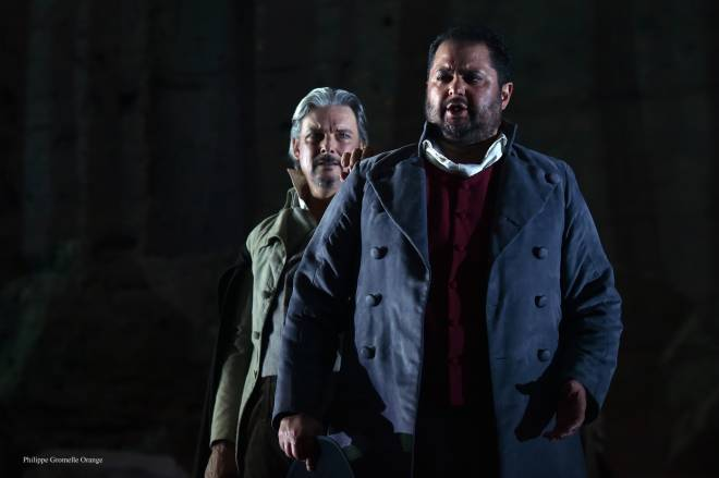 Nicolas Cavallier & Celso Albelo - Guillaume Tell par Jean-Louis Grinda