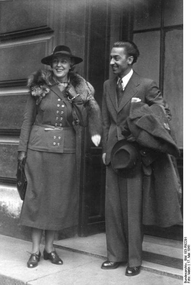 Germaine Lubin & Herbert von Karajan
