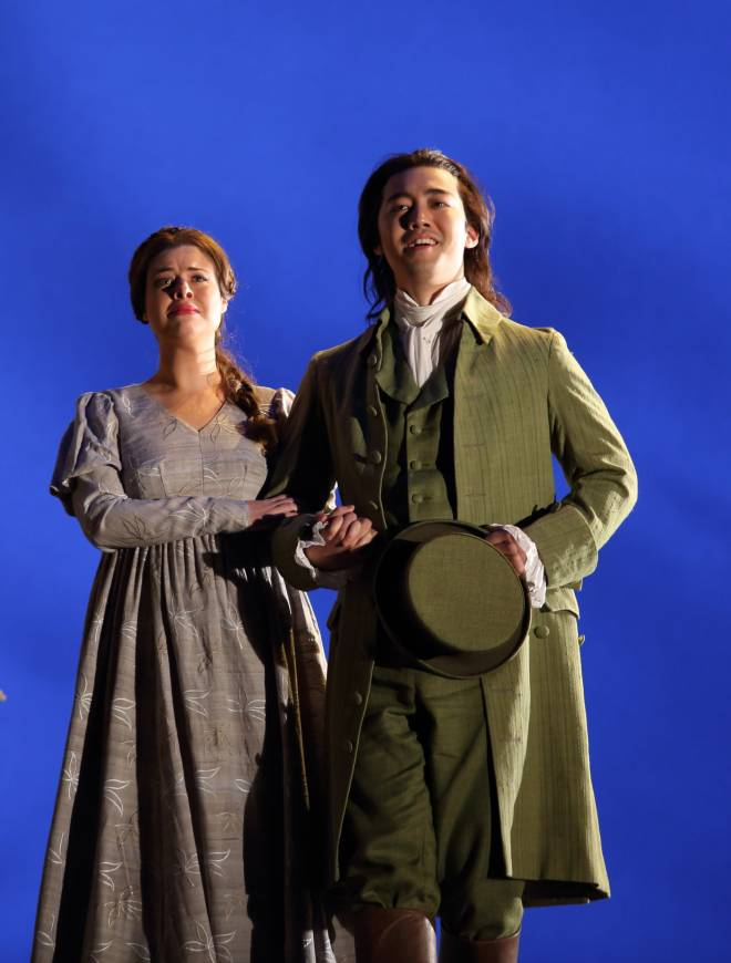 Stephanie Wake-Edwards & ByeongMin Gil - Werther par Benoît Jacquot